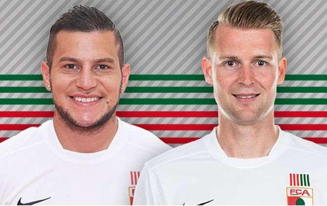Bobadilla e Callsen-Bracker renovam contrato com o Augsburgo (Foto: Augsburgo)
