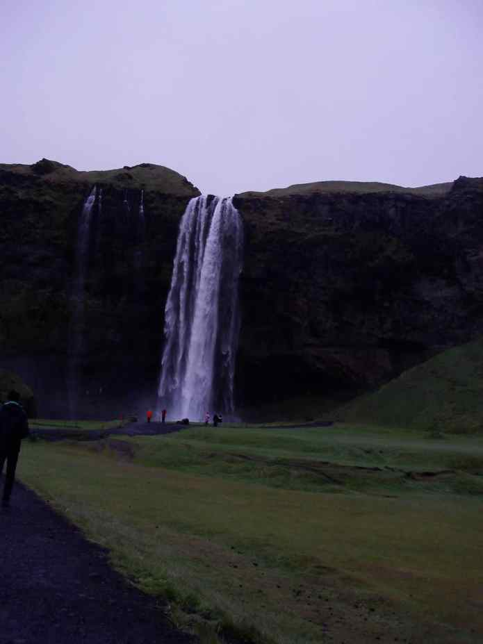 Waterfall Iceland Stop-Over