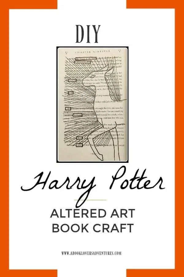altered art Harry Potter