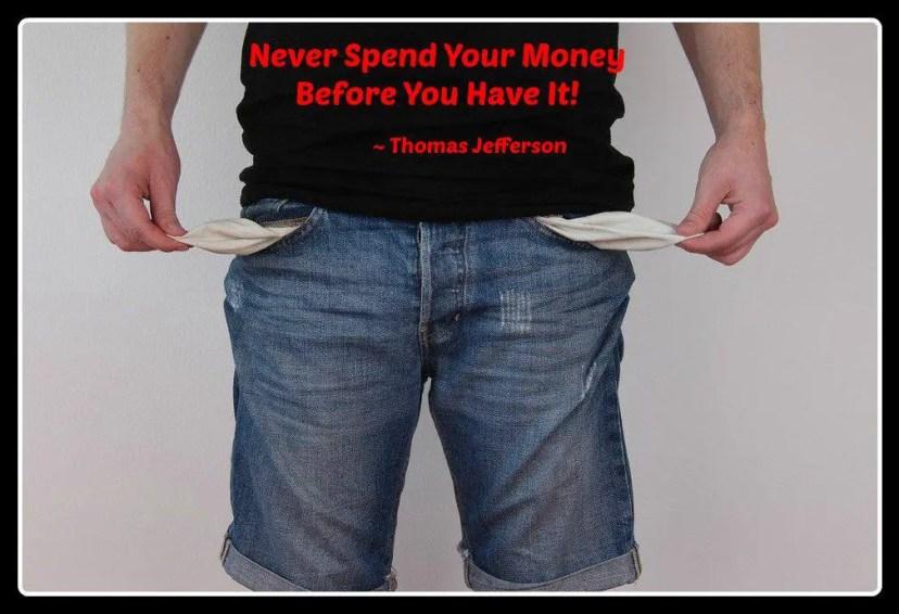 Money becoming debt free