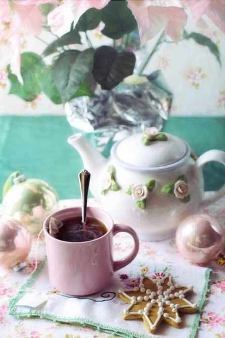 Literary Destination tea time