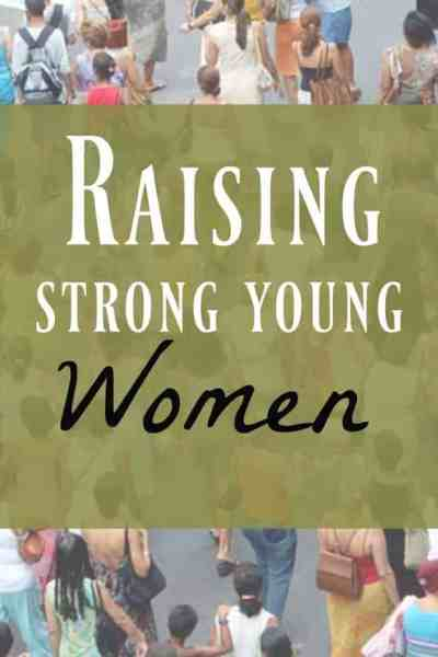 strong young women