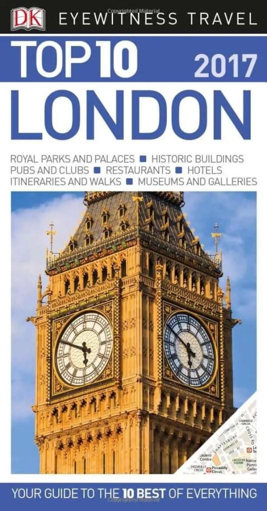top 10 london book
