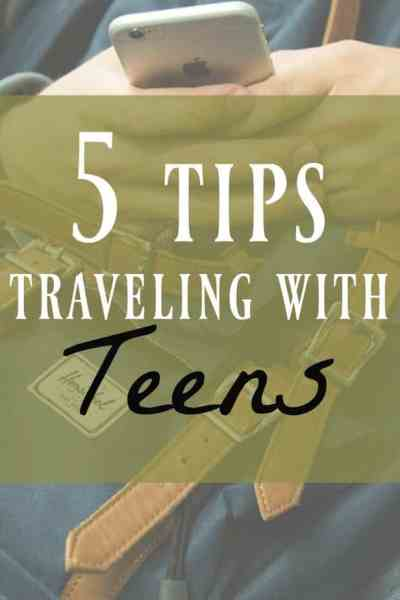 Traveling with Teens