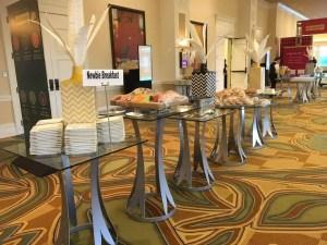 Hilton Orlando breakfast