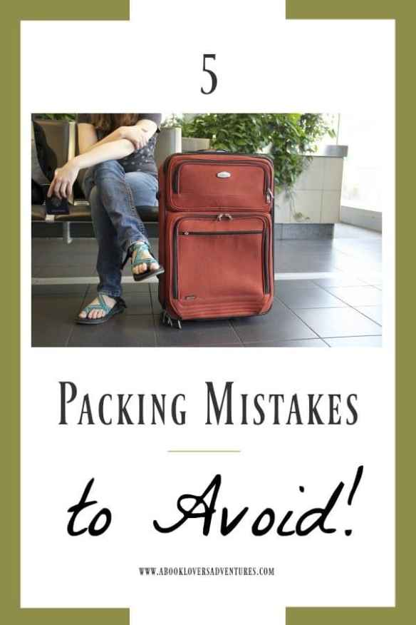 Packing Mistakes to avoid