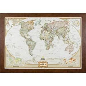 traveler gift world map