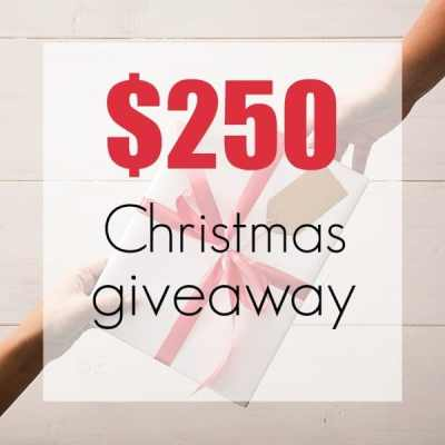 Enter to WIN $250 Visa Gift Card Christmas Giveaway