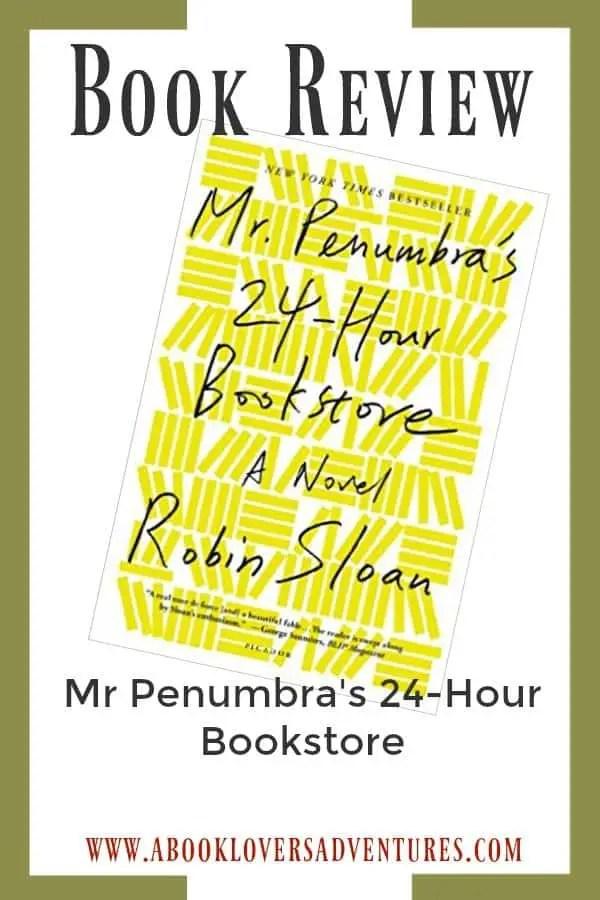 book review mr penumbra