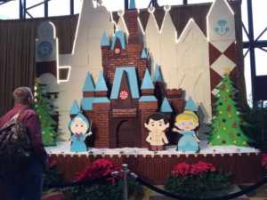 Cinderella Gingerbread house