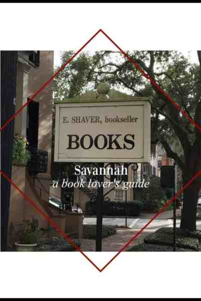 a book lover's walking tour savannah