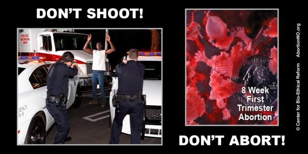 LowRes Black Focus - Don't Shoot