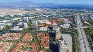 Irvine Spectrum aerial view