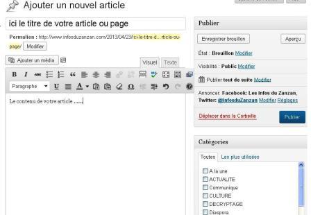 ajouter-article-wordpress