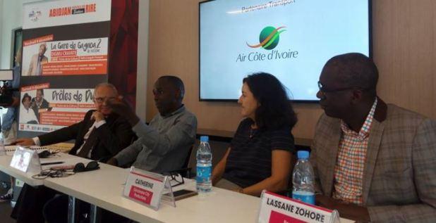 Abidjan capitale du rire Maman Gohou Michel