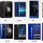 Smartphone Doogee Mobile: fiche technique BL7000, S30, MIX Lite, X30, et le X20L
