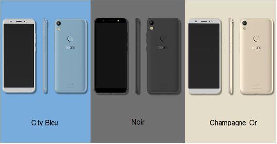 Zoom sur le design du nouveau Camon CM de Tecno Mobile