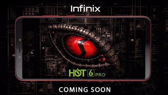 Infinix Mobile Hot 6 embarquera le Pro processeur snapdragon