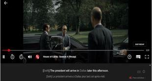 LLN un plugin pour apprendre une langue en regardant Netflix