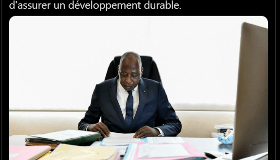 le dernier tweet du Premier Ministre Amadou Gon Coulibaly