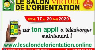 Une application mobile pour participer au Salon de l'Orientation en Côte d'Ivoire