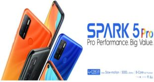 TECNO SPARK 5 PRO, Un smartphone puissant au prix imbattable