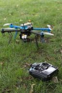 Racing Drones on ground