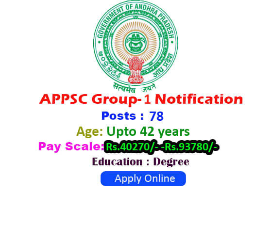 APPSC Group 1 Notification