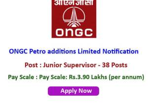 ONGC notification