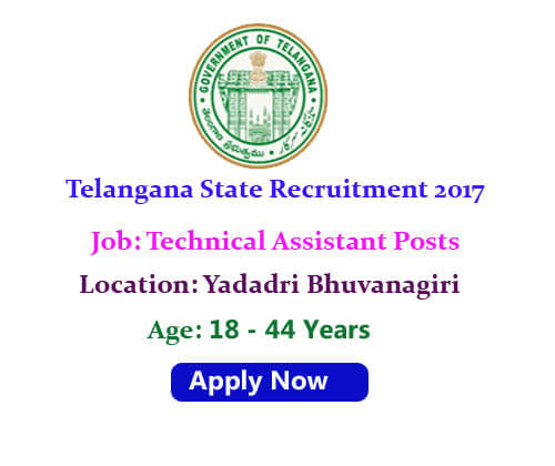 Yadadri job notification