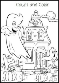 halloween activity pages printable