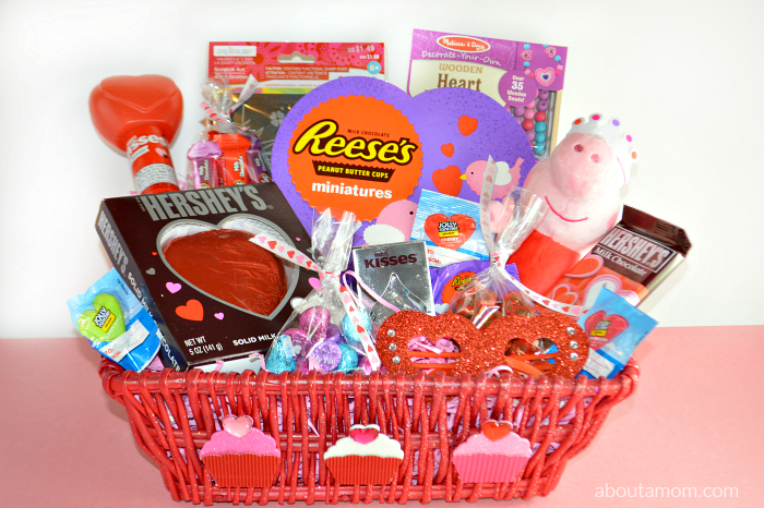 Valentines Day Basket Ideas For Kids About A Mom