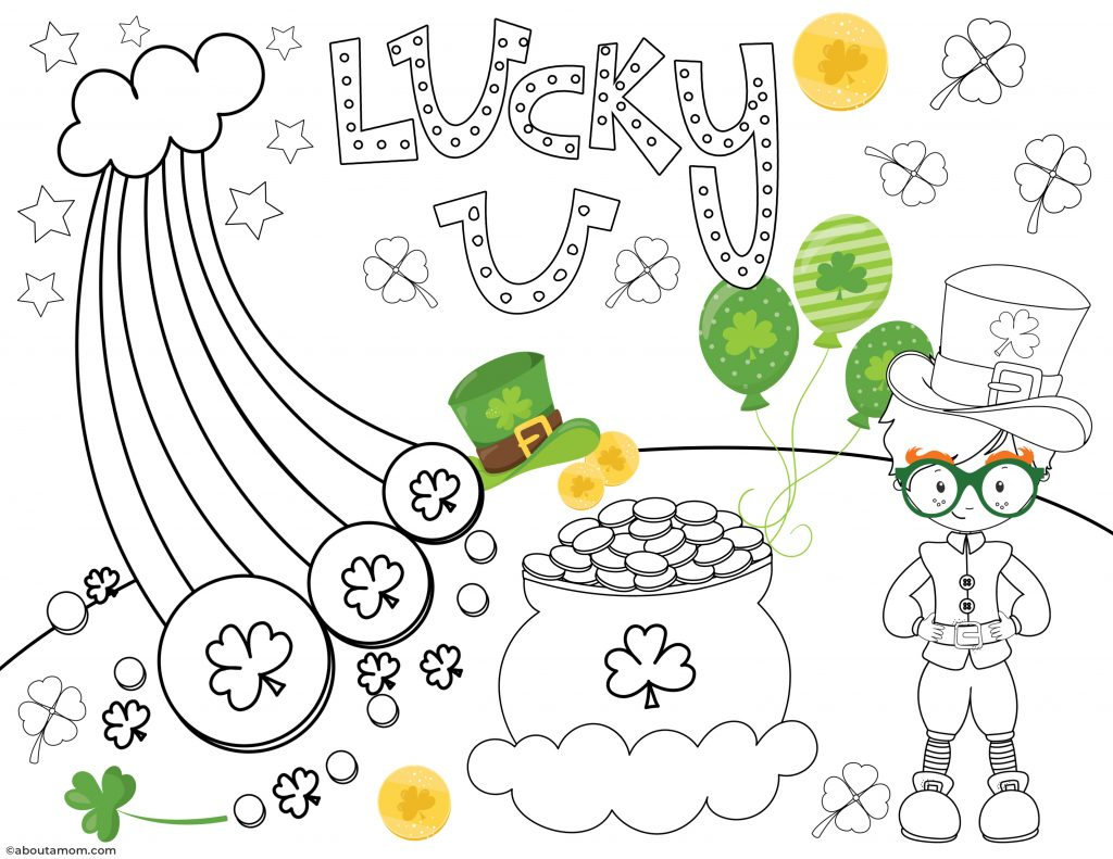 Free St Patrick S Day Printable Activity Pack