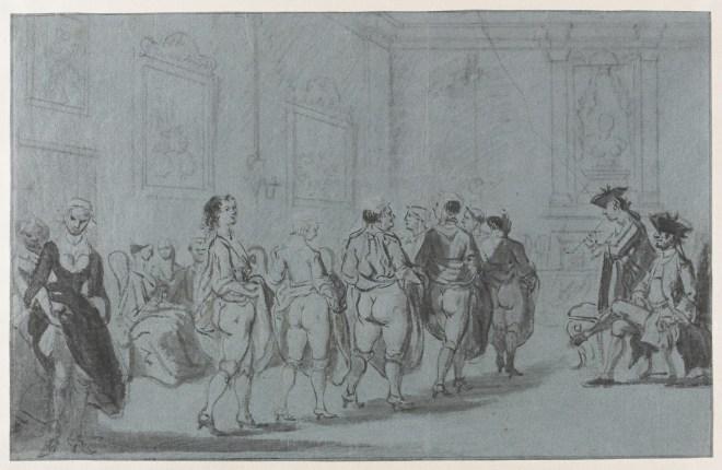 Prins Eugenius van Savoye,e rond 1725 door Cornelis Troost
