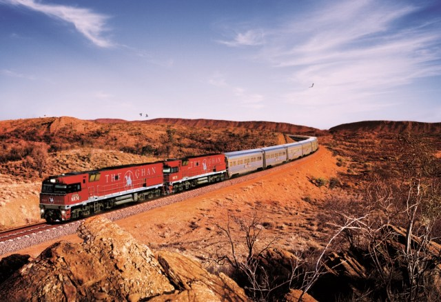 Image result for The Ghan, Australia