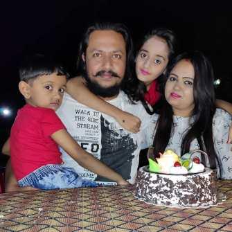 Bindass Kavya Family