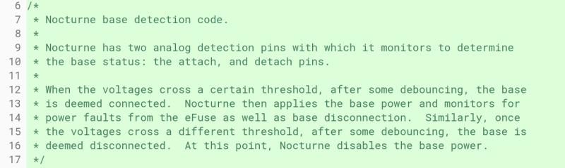 Nocture base detect