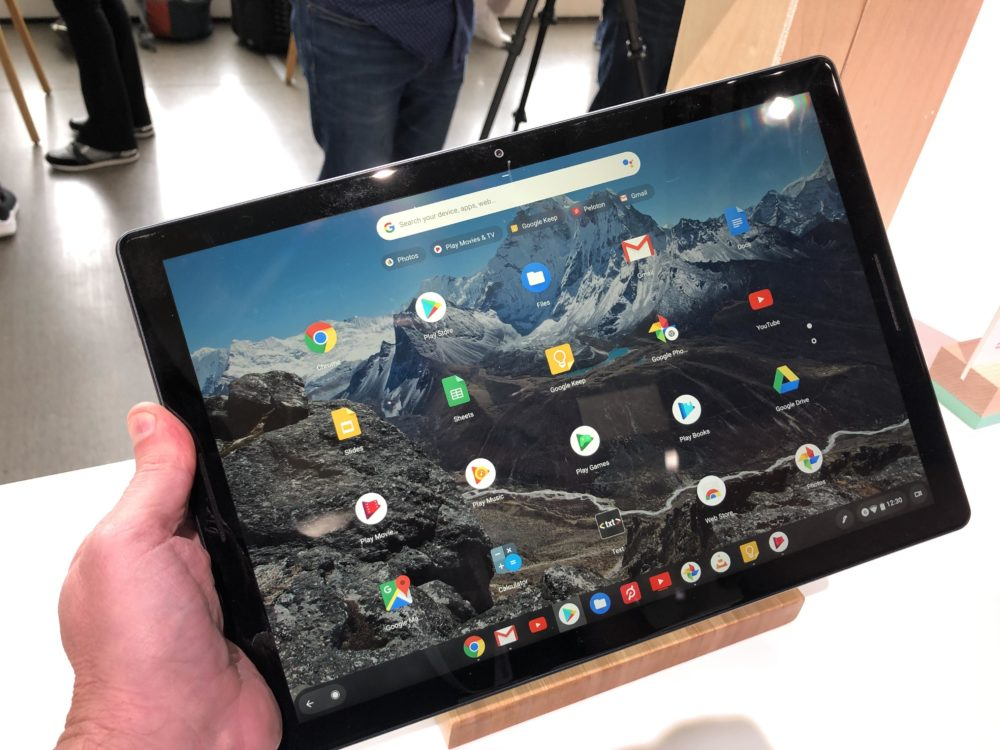 Google discounts the Pixel Slate by $250 and includes your choice of keyboard
