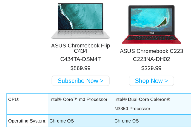 You can now subscribe to availability updates for the Asus