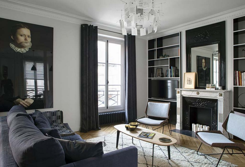 An apartment in the 6th district in Paris