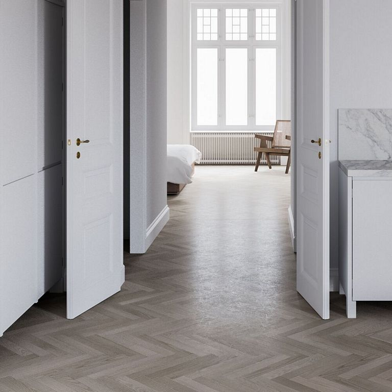 Restoration of an apartment with clean lines in Stockholm