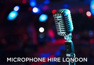 microphone hire london