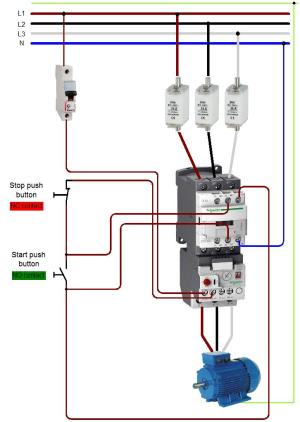 Contactor Wiring Detail  Best site wiring harness