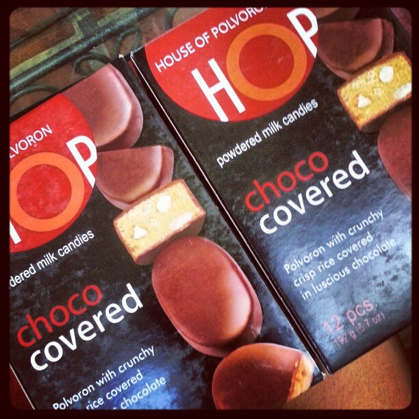 House of Polvoron:  Choco Covered