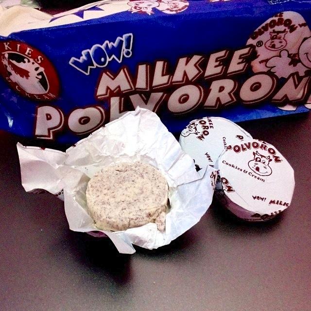 Milkee Polvoron: Cookies n Cream flavor