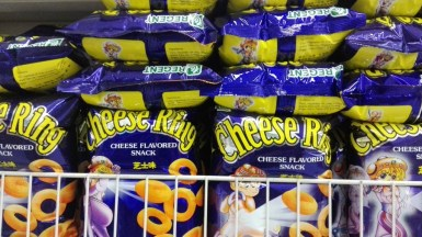 Cheese Ring cheese-flavored snack