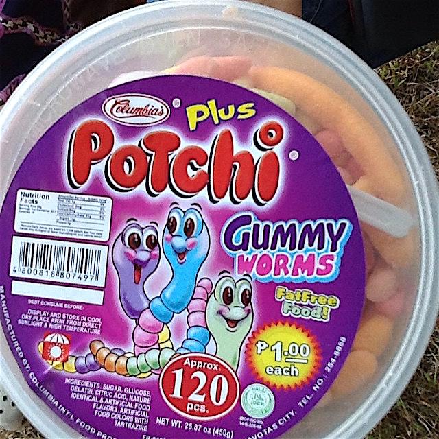 Potchi Gummy Worms