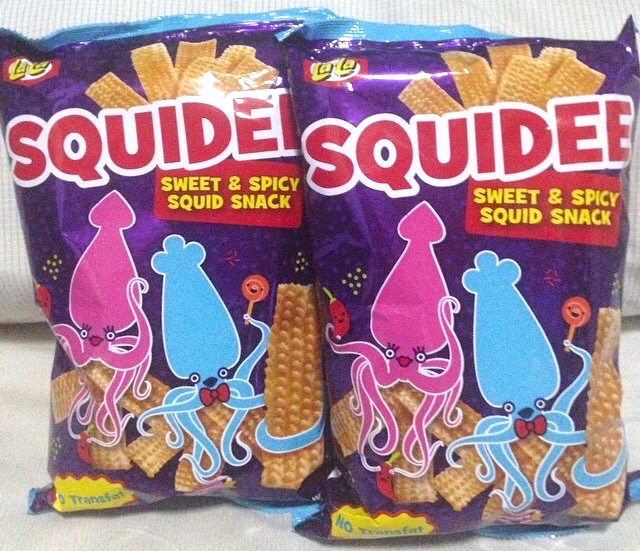 Squidee Sweet & Spicy Filipino Squid Snacks