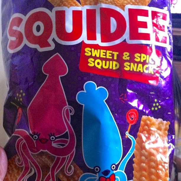 Squidee Sweet & Spicy Squid Snack