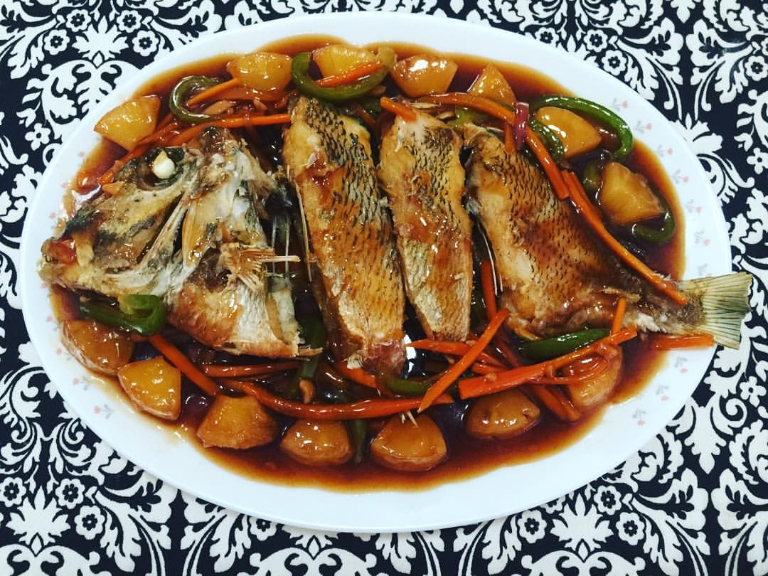 cooked bitilya fish